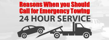 Reasons When you Should Call for Emergency Towing