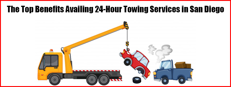 24-hour towing San Diego